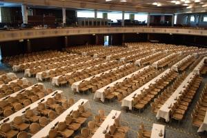 Forhandlingssalen i Bonn