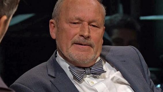 Per Fugelli på Trygdekontoret, skjermdump fra NRK.no