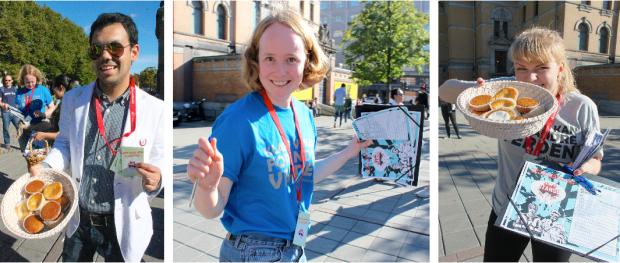 """Både muffins og kampanjen falt i smak hos """"mannen på gata"""". Dette gjør en aktivist glad!"""